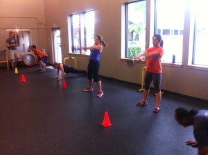 FVT boot camp action!
