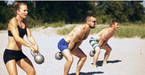 group kettlebell workout